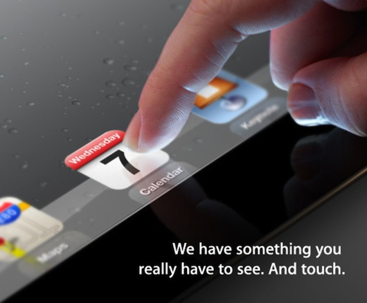 Apple's iPad 3 invitation